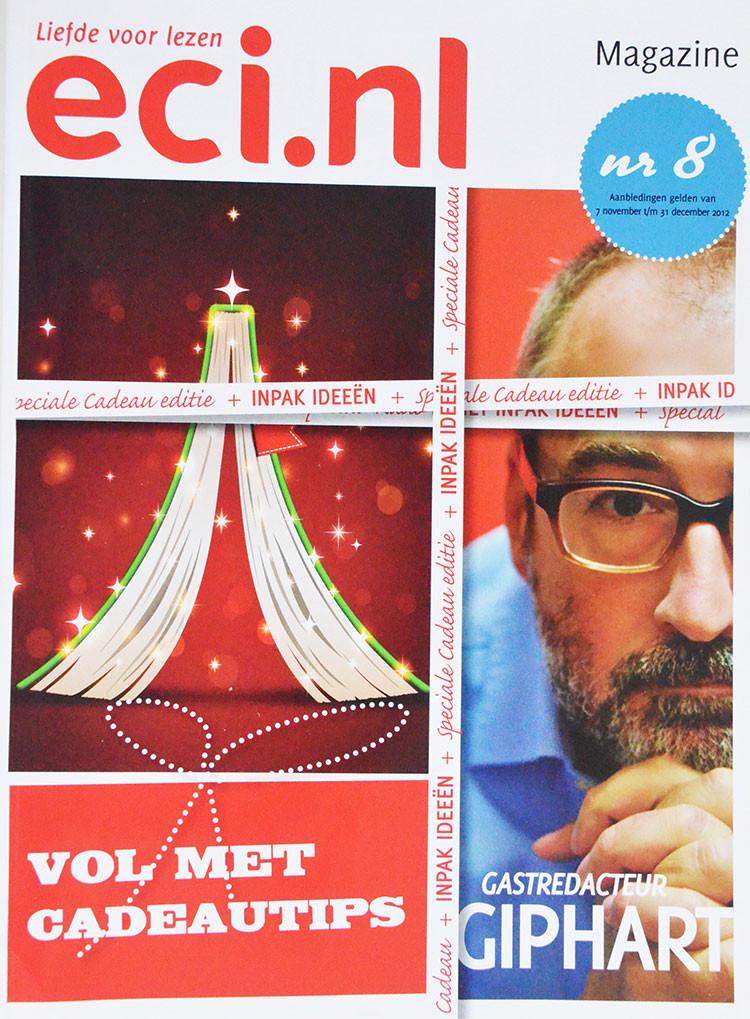 eci.nl, Liefde Voor Lezen, Nr 8 is een tijdschrift uit 2012 waar Ronald Giphart gastredacteur is