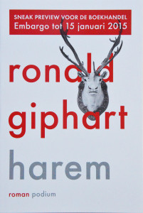 Ronald Giphart Harem nulde druk cover