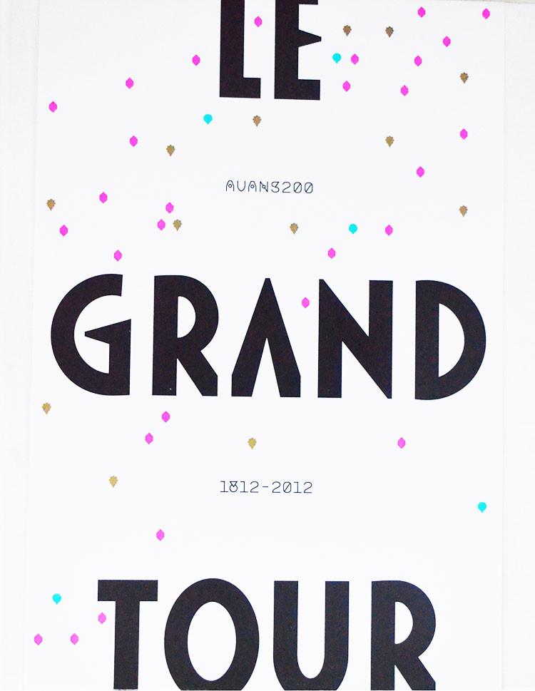 Le Grand Tour, Avans200, 1812-2012 is een boek uit 2012 met medewerking van Paul Rupp, Serge R. Van Duijnhoven, Maarten Van Helvoirt, Hans Van Den Eeden, Ronald Giphart, Hans Van Den Eeden, Henk Van Rijswijk, Broeder Venerandus, Nicolaas Johannes Warmerdam, Hans Van Den Eeden, Edwin Jacobs, A.W. Bouwman, L.J.A.D. Creyghton, Annegien Van Doorn en Marja Kamsma