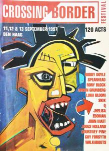 Crossing Border Festival 11, 12 & 13 september 1997, Den Haag is een tijdschrift waar Ronald Giphart in vermeld staat als spreker
