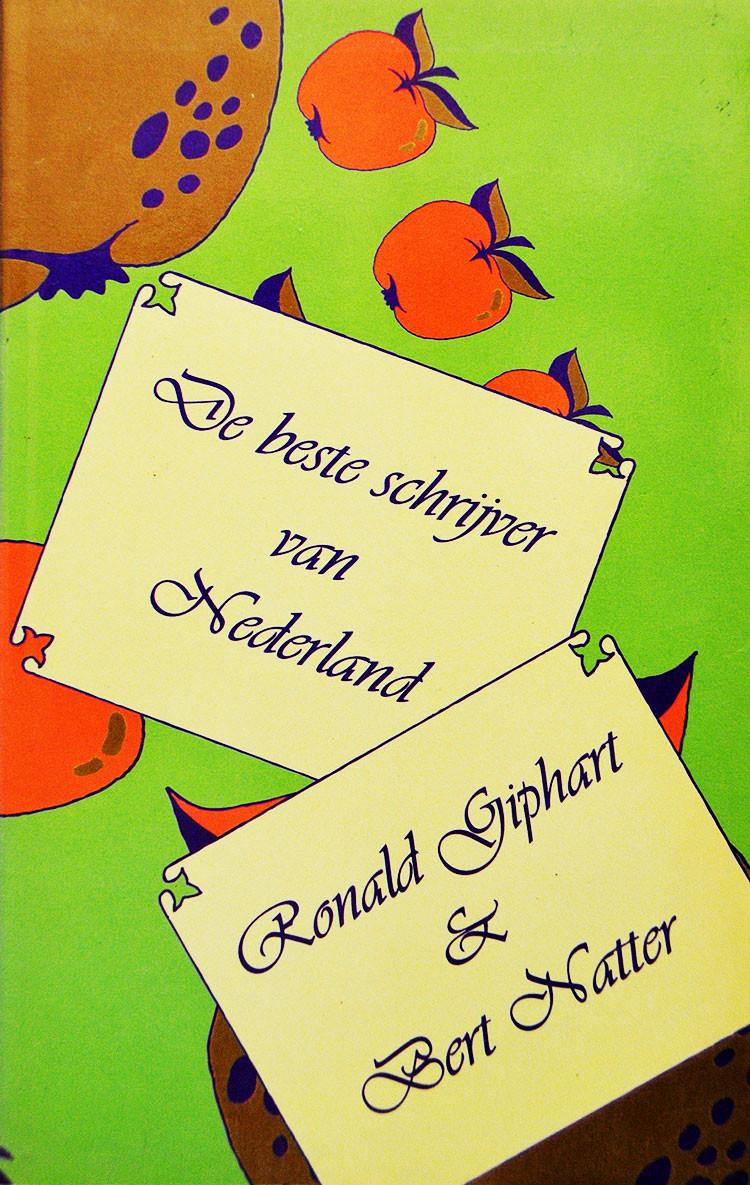 De Beste Schrijver Van Nederland is een boek van Ronald Giphart en Bert Natter uit 1995. Dit verhaal verscheen ook in Planeet Literatuur en Kwadraats Groot Literair Lees Kijk Knutsel En Doe Vakantie Boek.