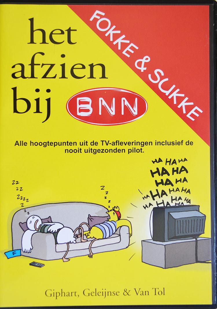 Fokke & Sukke het afzien bij BNN DVD Giphart, Geleijnse 7 Van Tol presenteren middels Fokke & Sukke cartoons de afgelopen maand in 2003