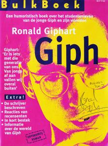 Dit is een Bulkboek uitgave met de roman Giph van Ronald Giphart en uitgebracht in 1998