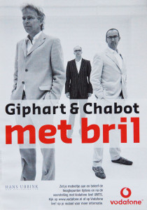 Ronald Giphart Giphart & Chabot met Bril speellijst 2005 2006