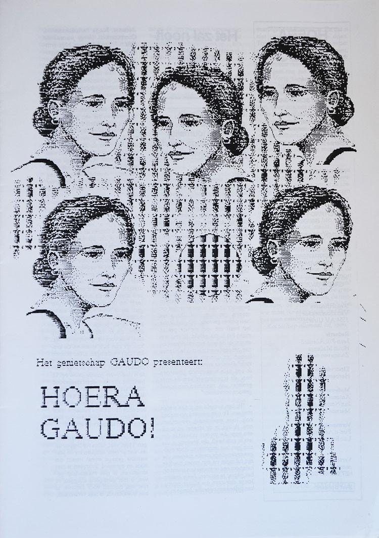 Ronald Giphart bracht onder het pseudoniem Gaudo het tijdschrift Hoera Gaudo uit in juni 1990