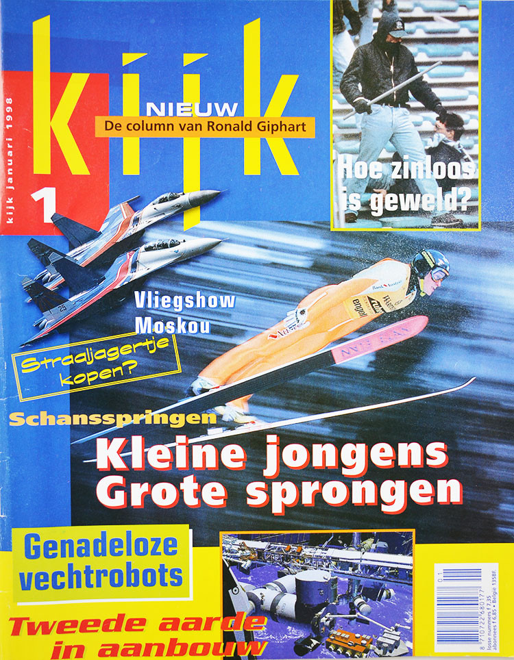 In deze Kijk Magazines staan columns van Ronald Giphart