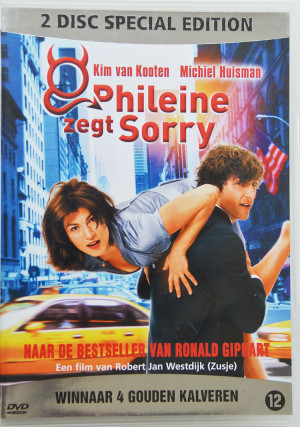 Verfilming van de roman van Ronald Giphart Phileine Zegt Sorry . Het boek is uit 1996 en de film is uit 2003. Regie: Robert Jan Westdijk. Acteurs: Kim van Koten, Michiel Huisman, Tara Elders, Lisbeth Kamerling