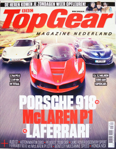 TopGear Magazine Nederland, 116, februari 2015, Planet: [Zonder titel] Vanaf deze maand elke maand in TopGear Magazine: schrijver Ronald Giphart over zijn relatie met auto's. Heeft hij dan wat met auto's dan?, vraag jij je af. Heel veel meer dan jij denkt. In de eerste aflevering: zijn zoons eerste rijles.