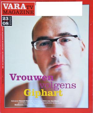 Ronald Giphart VARA-Gids-2003-34-23-29-augustus