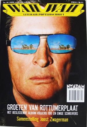 Ronald Giphart Wah Wah Literair Poptijdschrift -10- 2008. Groeten van Rottumerplaat, Het beslissende album volgens 100 en enige schrijvers