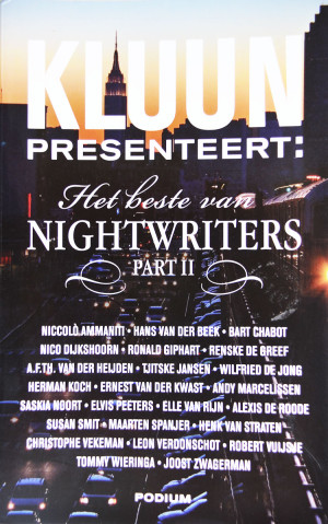 Op initiatief van Kluun betreden Nederlandse en Vlaamse schrijvers de podia van nachtclubs, festivals en schouwburgen. Avonden met muzikale verassingen en onvergetelijke voordrachten van nachtschrijvers. Voor de thuisblijvers presenteert Kluun nu de allerbeste verhalen van het afgelopen seizoen.