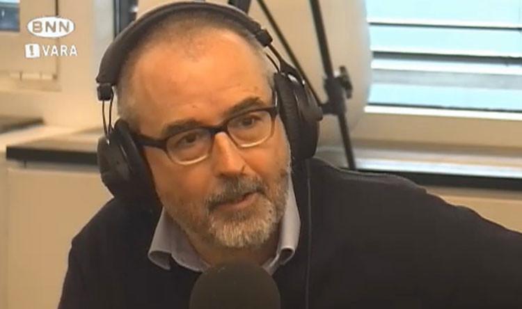 Ronald Giphart NPO Radio 1 Druktemakers. Regelmatig geeft Giphart hier een verbale column
