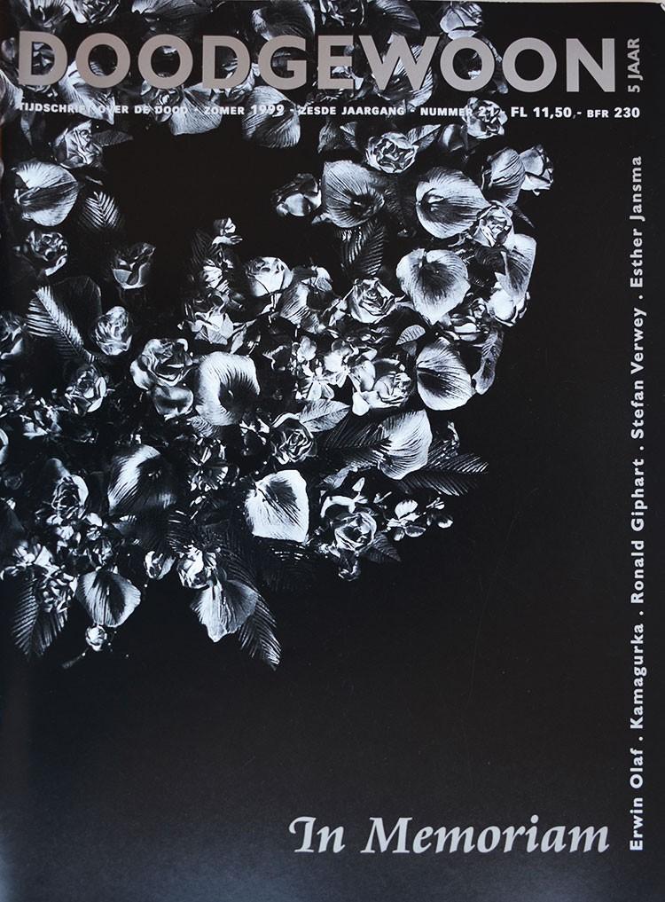 een serieus en professioneel publiekstijdschrift over de dood met een artikel van Ronald Giphart