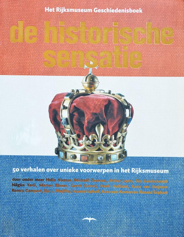50 verhalen van verschillende schrijvers over unieke voorwerpen in het Rijksmuseum. Ronald Giphart: Nee tegen kruisraketten.