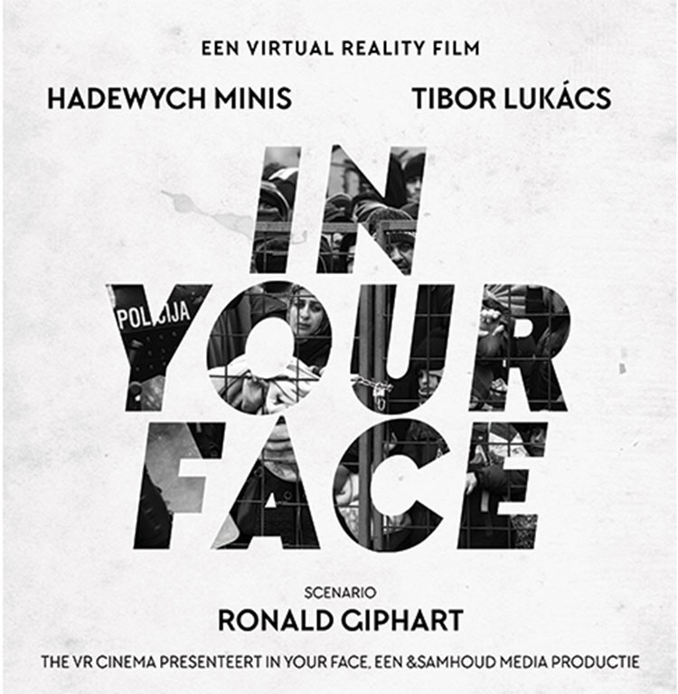 Europa's eerste speelfilm in virtual reality, en dat in 's werelds eerste VR cinema! In Your Face is een productie van regisseur Jip Samoud en werd geschreven door Ronald Giphart.