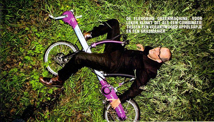 Rails Nummer 6 juli augustus 2007 | thema: Back to the fifties | Ronald Giphart doet het zelf | De Greenmachine