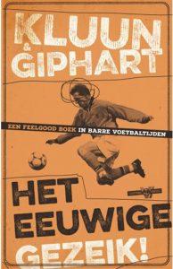 Dit is de eerste versie van de cover van het boek Het eeuwige gezeik va Ronald Giphart en Kluun