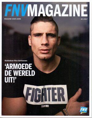 FNV Magazine met een column van Ronald Giphart
