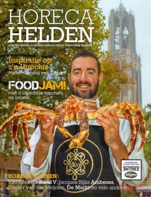 Horeca Helden is een tijdschrift met een column van Ronald Giphart