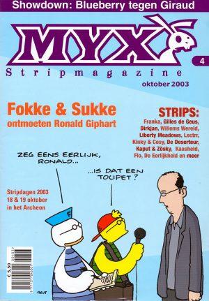 Ronald Giphart Jean-Marc van Tol Tulle Myx stripmagazine interview Fokke Sukke